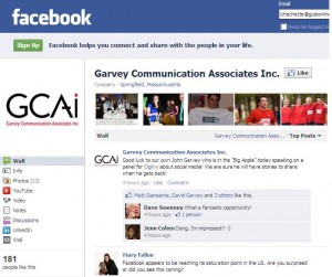 Garvey Communication Fan Page Featuring New Layout