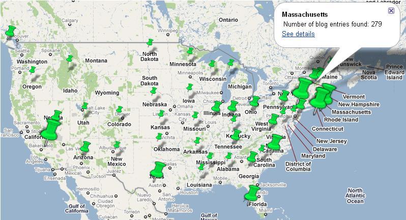 Tornado Map Overlay