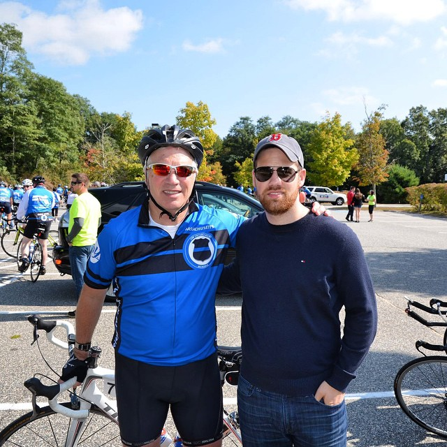 GCAi President John Garvey made the 106+ mile trek to from #SpringfieldMa to #Boston on Saturday as a part of the annual #RideToRemember charity bike ride! #SPDR2R #WesternMA