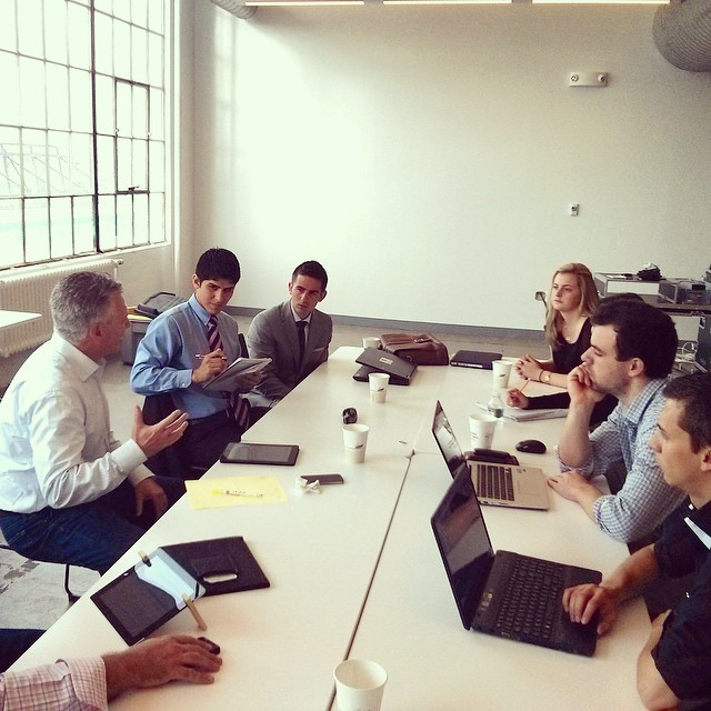John Garvey visits #FinTech #Startup Bootcamp to help create #innovative #FinancialServices & #Banking products!