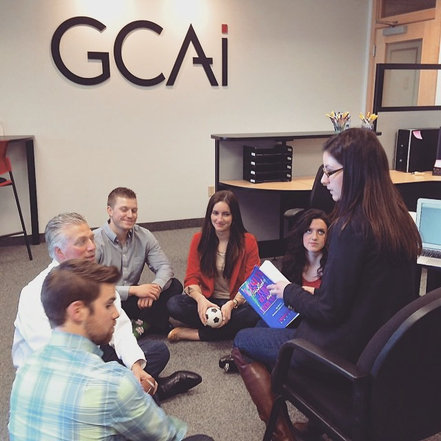 This is what happens at a digital #marketing agency when the internet is down. ? #GCAiPlanet